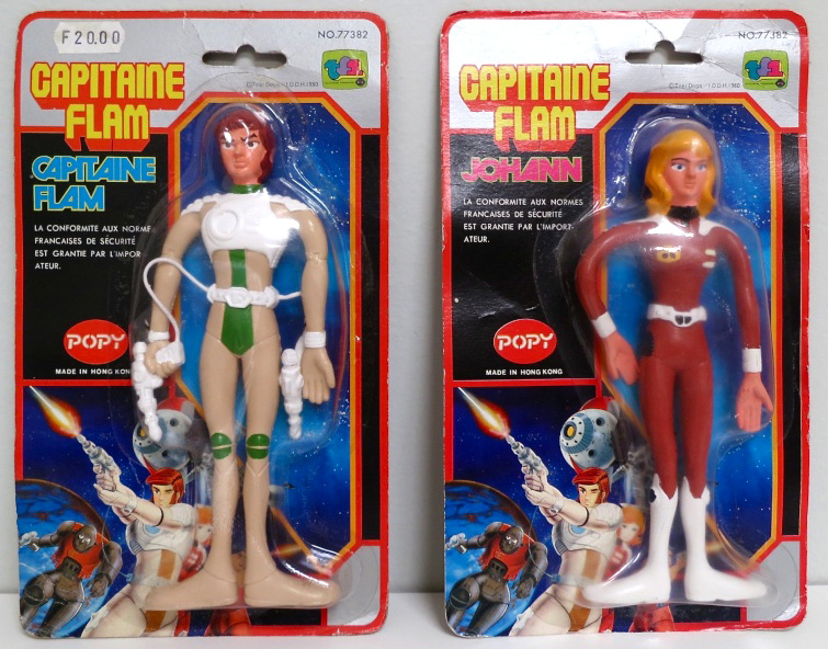capitaine flam bendable popy