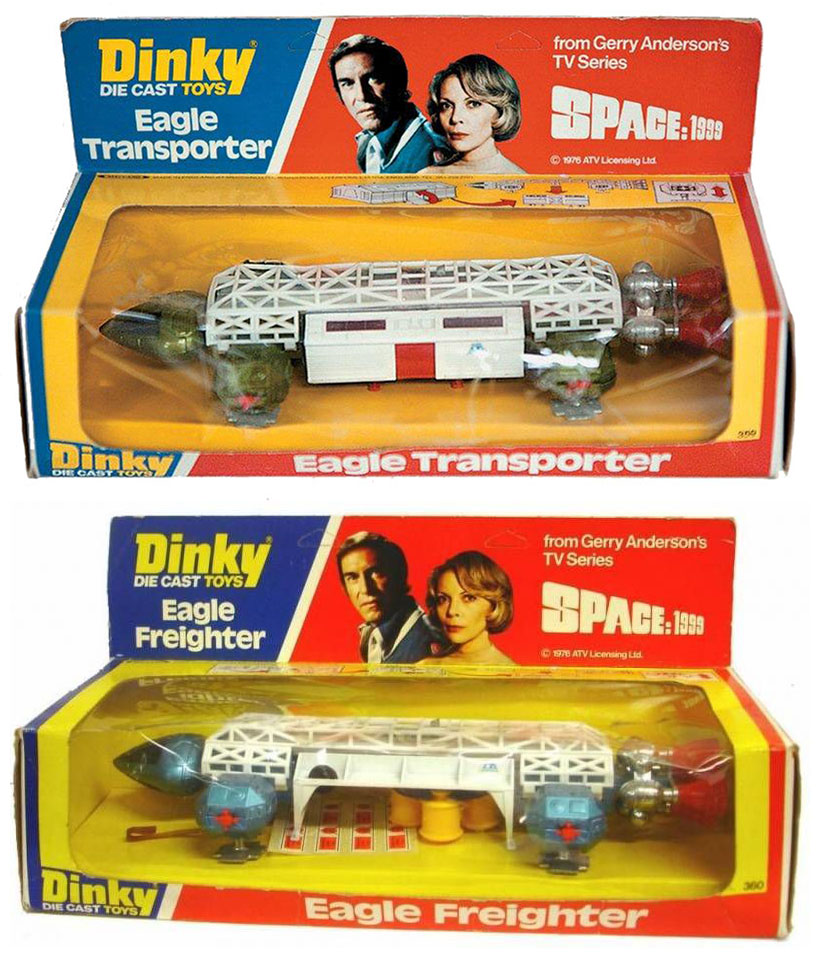 cosmos 1999 aigle transporteur dinky toys