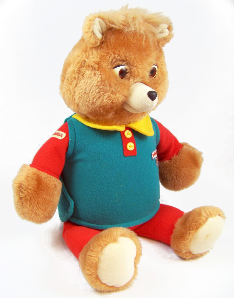 ours parlant teddy ruxpin playskool