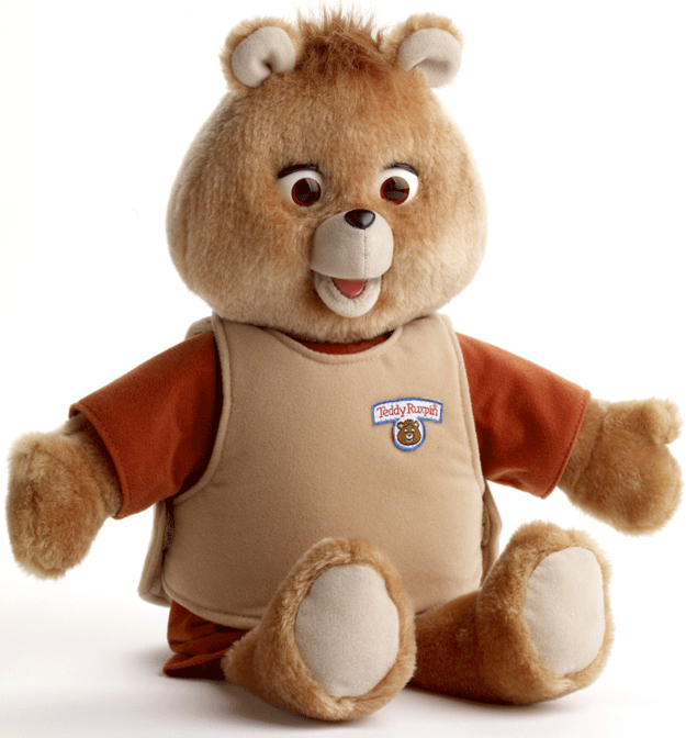 ours parlant teddy ruxpin world of wonders